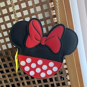 Small Disney's Minnie Mouse Loungefly purse🖤